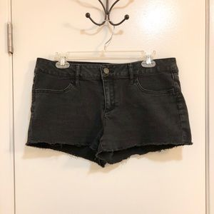 No Boundaries Black Denim Shorts
